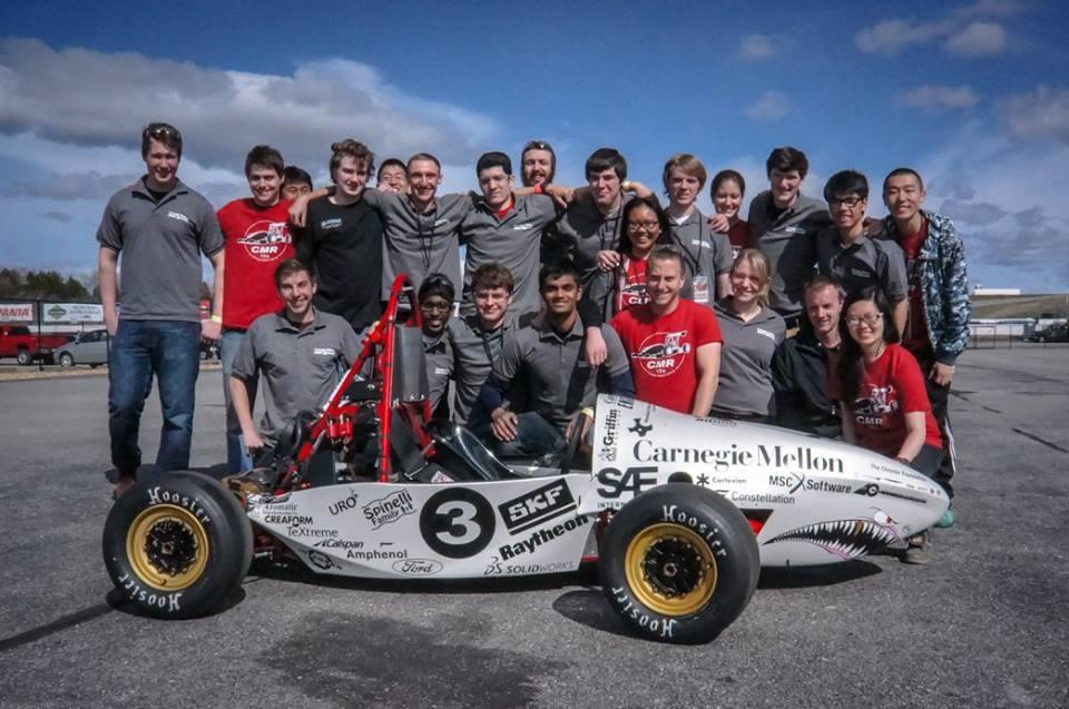 CMR 15e Wins at Formula Hybrid 2015!